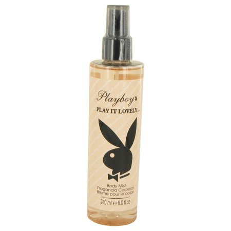 Playboy Play It Lovely by Playboy Body Mist 8 oz for Women - Playboy Thanksgiving
