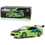 """Brian's 1995 Mitsubishi Eclipse """"The Fast and the Furious"""" (2001) Movie 1/18 Diecast Model Car  by Greenlight"""