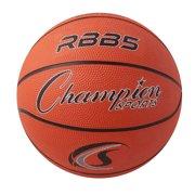 Mini Rubber Basketball, Size 3, Orange, Pack of 3