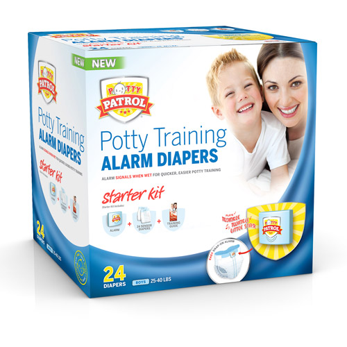Potty Patrol Alarm Diapers Starter Kit