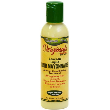 Africa's Best Originals Leave In Liquid Hair Mayonnaise 6 (Best Hair Product For Long Thick Hair)