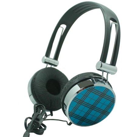 Premium Over-Head Stereo Handsfree Headset Headphones w/ Mic