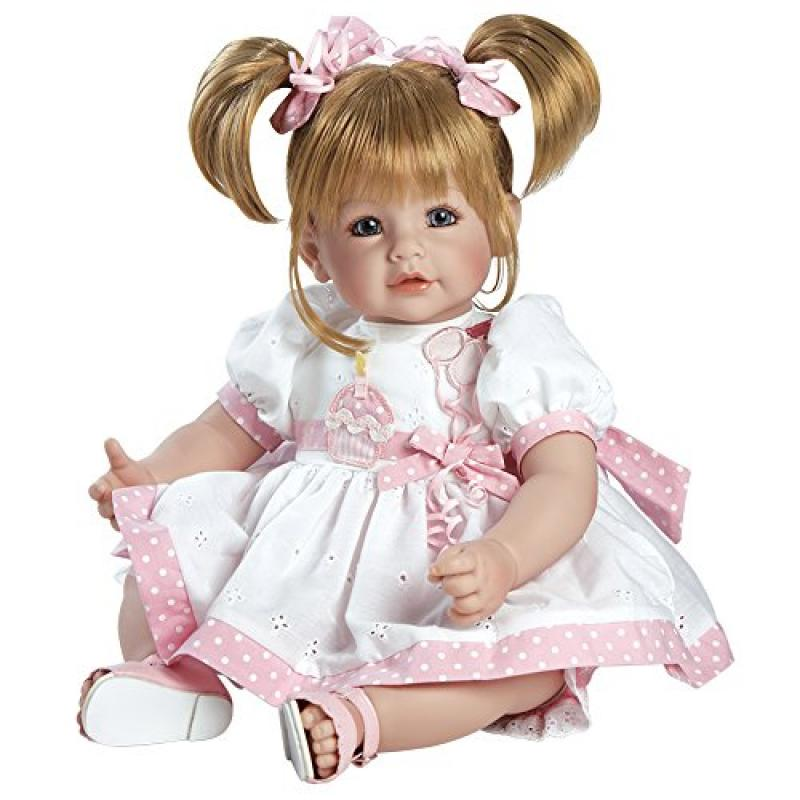 "ADORA Cuddly & Weighted 20"" Toddler Doll ""Happy Birthday ..."