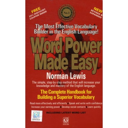 Word Power Made Easy (Paperback) (Word Power Made Easy Difficult Word List)
