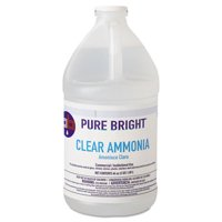 Clear Ammonia, 64oz Bottle, 8/carton