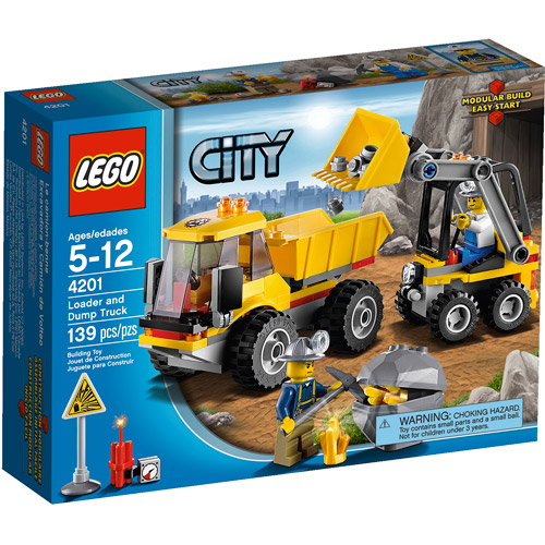 LEGO City Mining Loader and Tipper Play Set