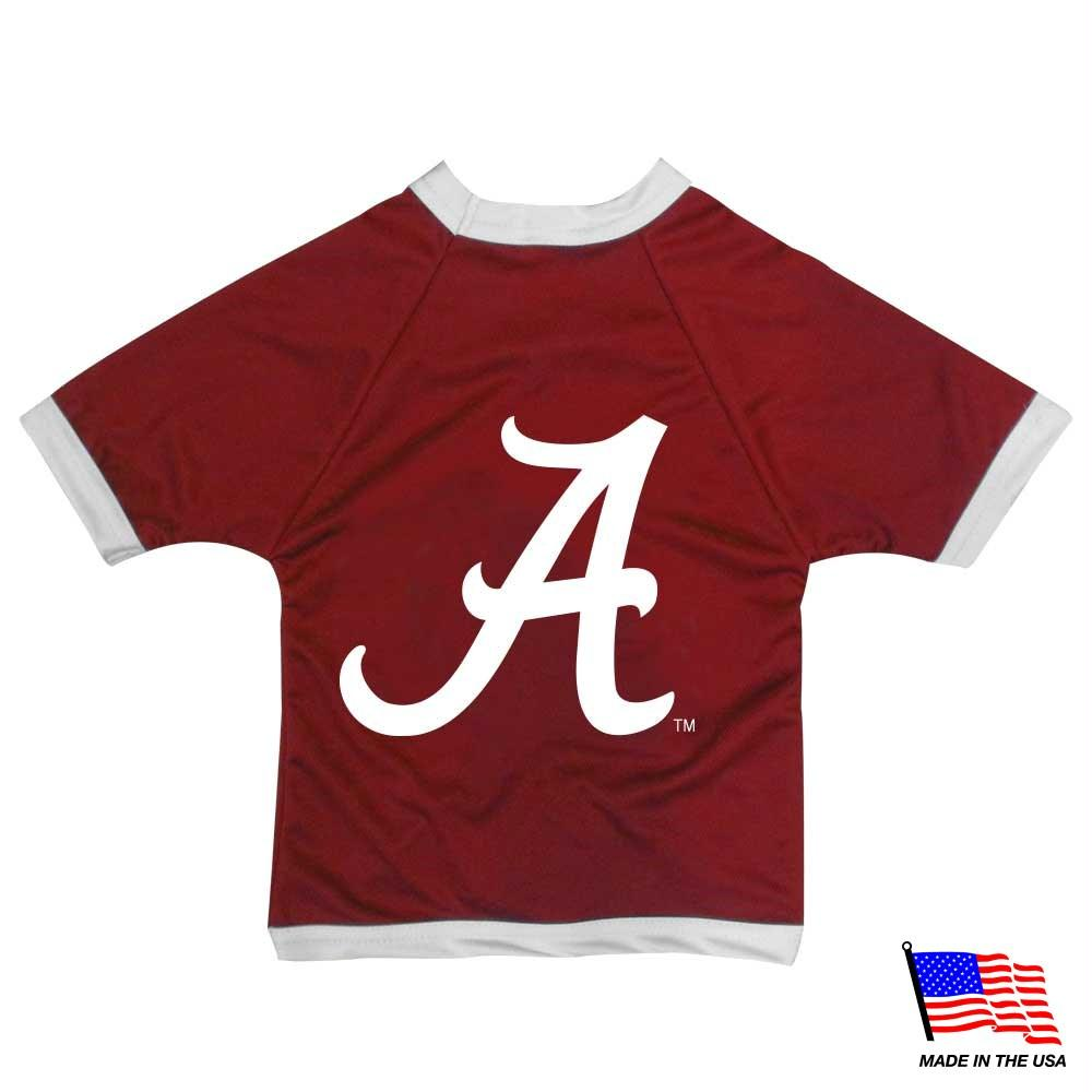 Alabama Crimson Tide Athletic Mesh Pet Jersey - Tiny