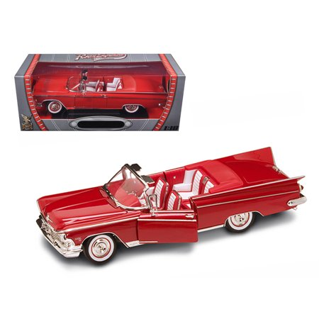 1959 Buick Electra 225 Convertible Red Diecast Model Car 1/18 by Road (1959 Buick Electra Convertible)