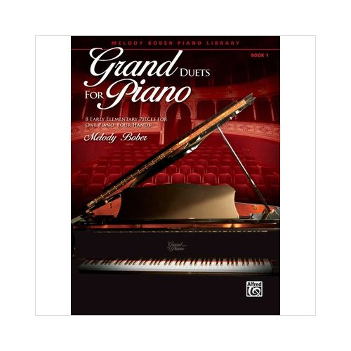 Alfred 00-32152 Grand Duets for Piano- Book 1 - Music Book