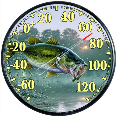 Big-Mouth Bass Thermometer