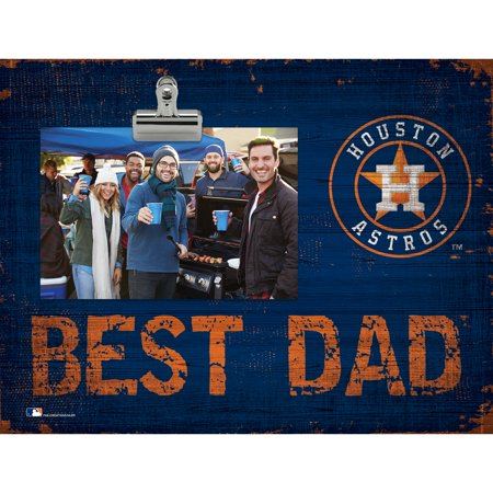 Houston Astros 8'' x 10.5'' Best Dad Clip Frame - No