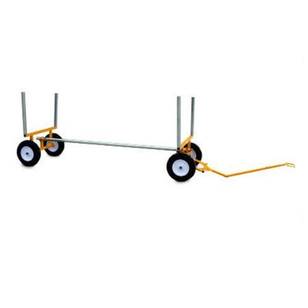 - SNAP-LOC ALL-TERRAIN LUMBER & PIPE CART 2,000 lb. capacity, 10 inch airless wheels