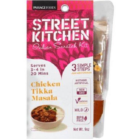 street kitchen chicken tikka masala indian scratch kit 9 oz walmart