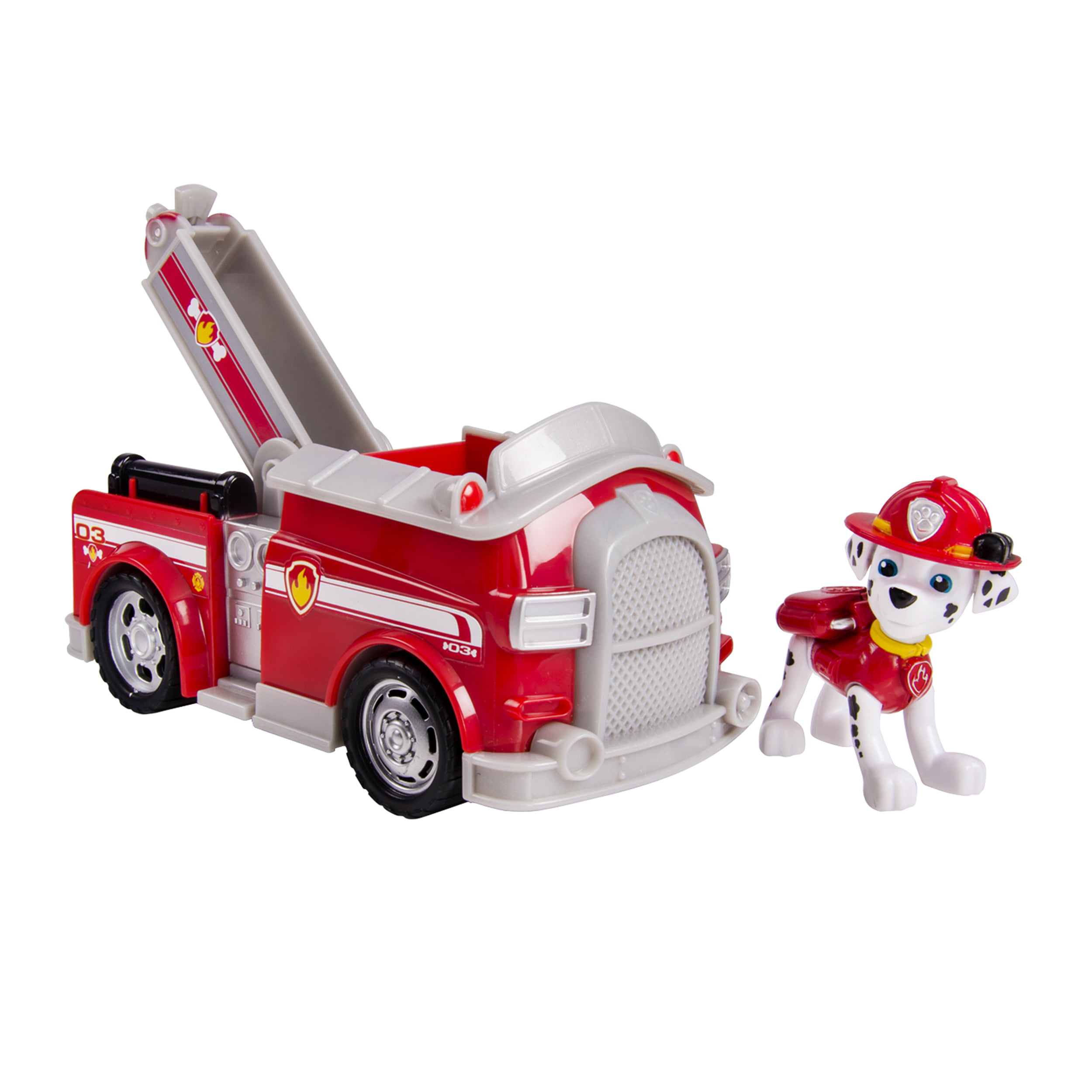 Paw Patrol Marshall's Fire Fightin' Truck, Vehicle and Figure by Spin Master Ltd