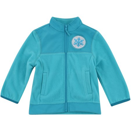 Disney Frozen Toddler Girl Elsa Fleece Jacket (Disney Jackets)