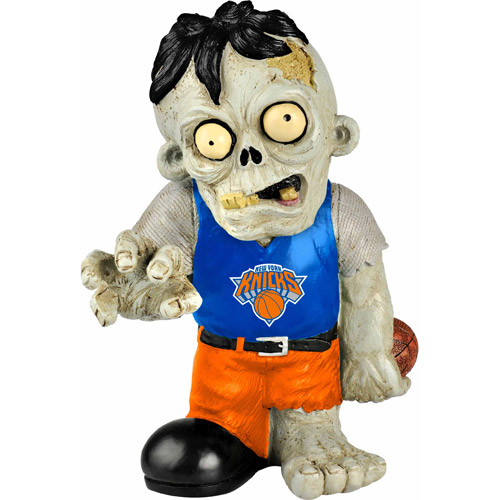Forever Collectibles NBA Resin Zombie Figurine, New York Knicks