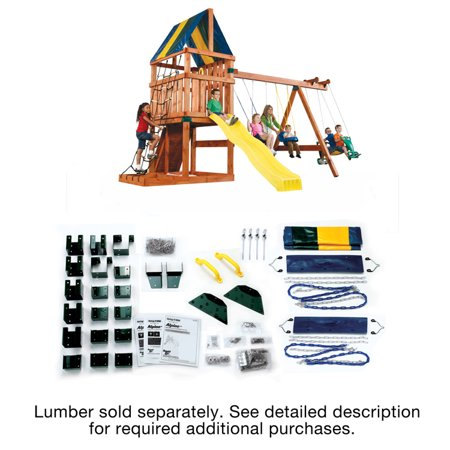 Swing-N-Slide Alpine Swing Set Kit - Lumber not included
