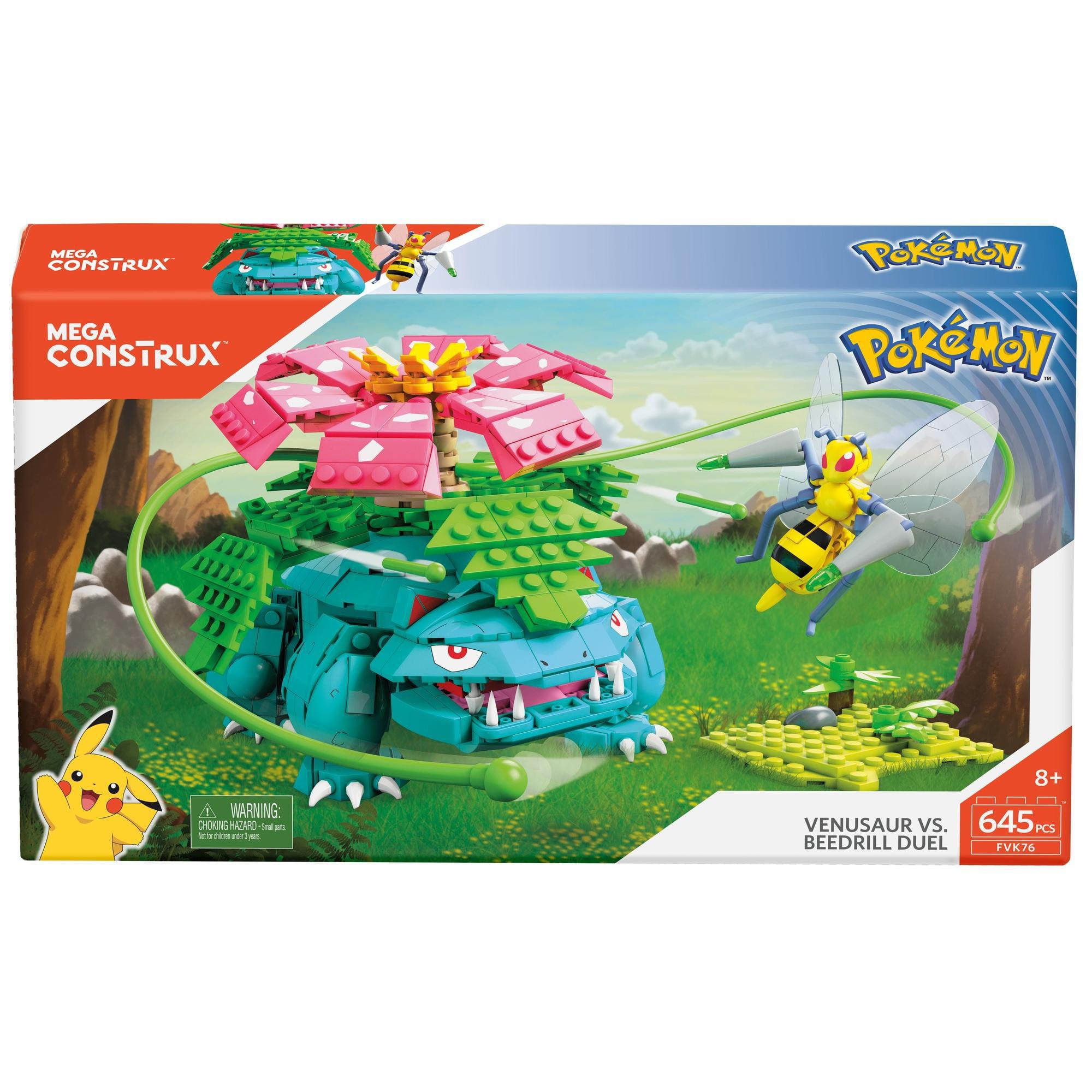Mega Construx Pokemon Chikorita vs Snubbull.Lot of 2. Cyndaquil Totodile vs