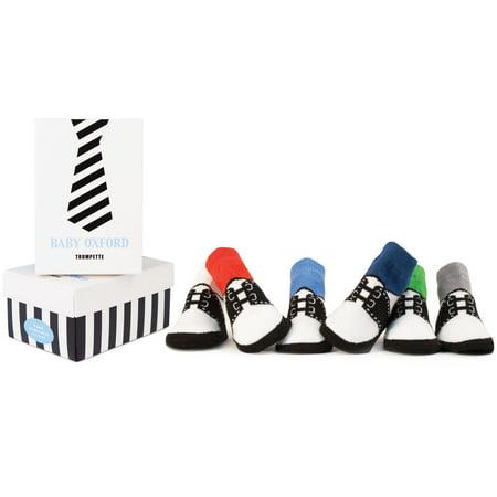Baby Boys' Oxford Socks 6-pack (0-12 mo.)