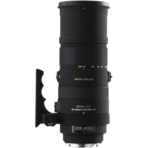 Sigma 150-500mm F5-6.3 DG HSM OS For