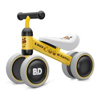 Ancaixin Foot to Floor Ride On Tricycle Baby Balance Bike, Yellow Duck