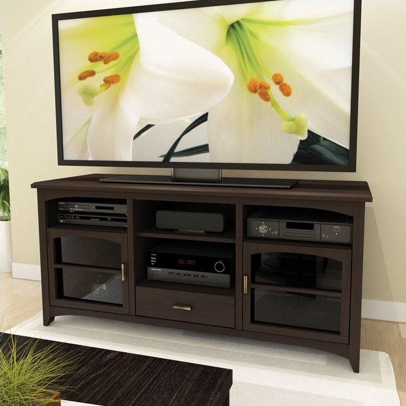 "Sonax by CorLiving West Lake 60"" TV Stand in Dark Espresso"