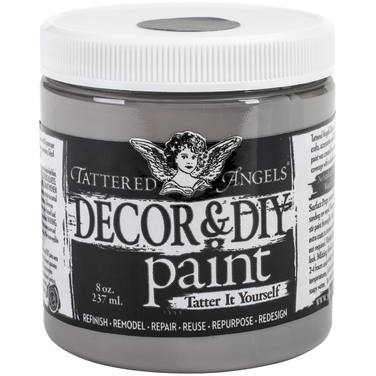 Decor & DIY Paint Cup 8oz-Silver