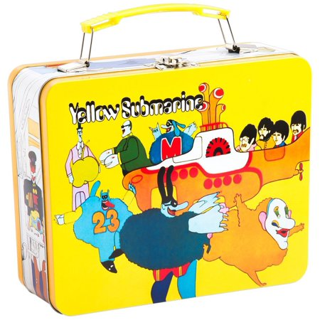 Beatles Tin Tote Large Yellow Submarine Vintage (Vandor)