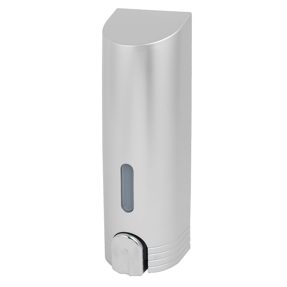 Unique Bargains 400ml ABS Plastic Gray Wall Mounted Bathroom Toilet Soap Lotion Pump Dispenser - image 4 de 4