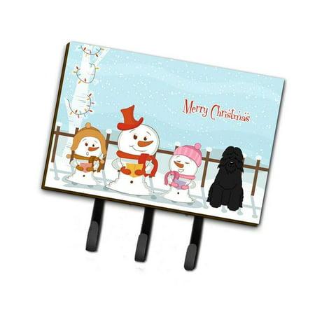 Carolines Treasures BB2405TH68 Merry Christmas Carolers Bouvier Des Flandres Leash or Key Holder - image 1 de 1