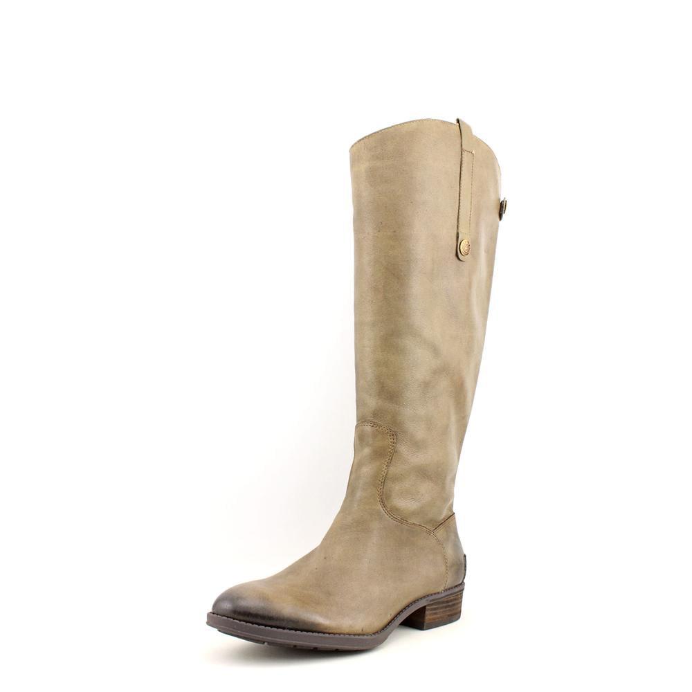 Sam Edelman Penny 2 Women  Round Toe Leather Brown Knee H...