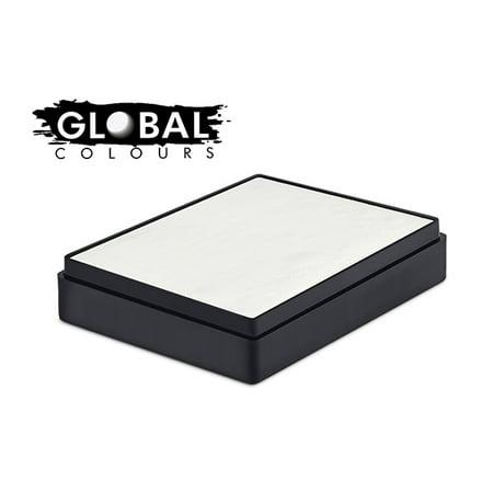 Global Body Art Water Based Face Paint - Standard White 100gr - White Body Paint