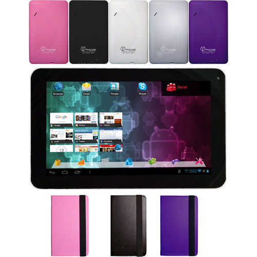 "Visual Land Prestige 9"" Tablet 8GB includes Tablet Case"