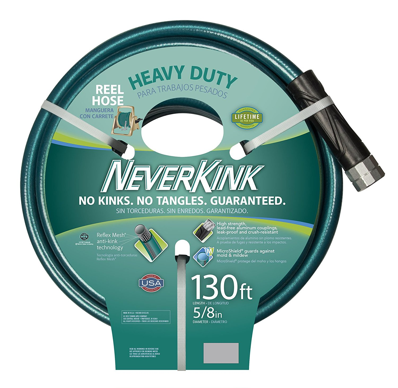 Apex Digital 8615-130 Neverkink Heavy Duty Water Hose, 5/...