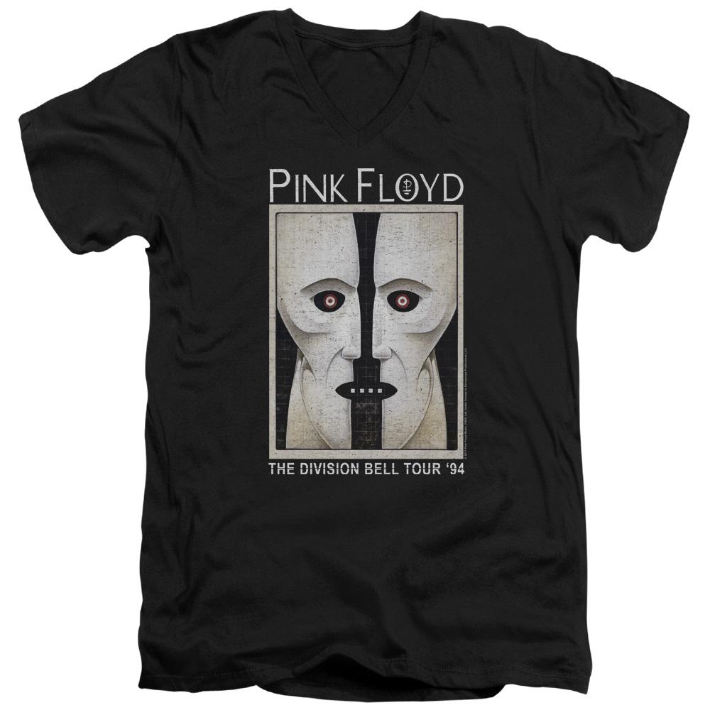 Pink Floyd/The Division Bell Mens V-Neck Shirt (Black, XX-Large)