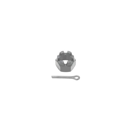 MACs Auto Parts  47-26211 Front Spindle To Hub Castle Nut & Cotter Pin - 3/4 -16 -