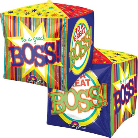 Anagram Bosses Day To a Great Boss Cube Shape 15