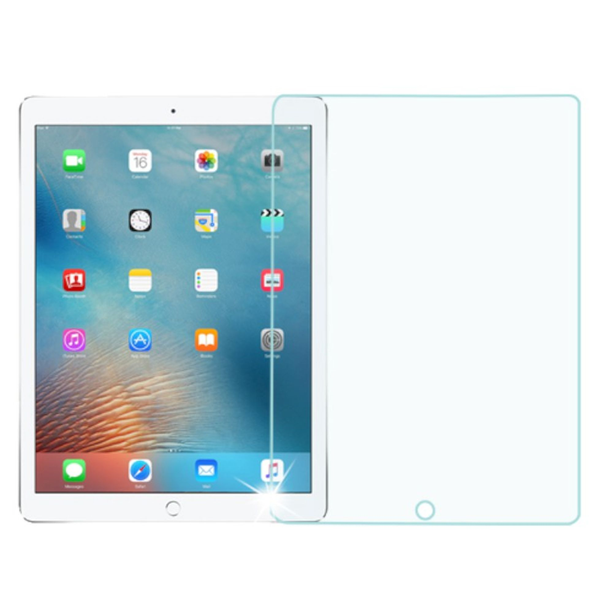 """Insten 9H Hardness 0.3mm Premium HD Tempered Glass Screen Protector For Apple iPad Pro 12.9"""""""