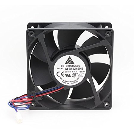 DELTA AFB1224SHE 1238 12038 12cm 120mm DC 24V 0.75A industrial case axial cooling