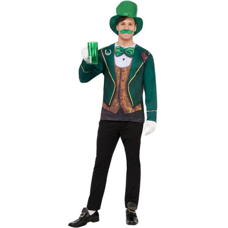 Adult Instantly Irish T-Shirt Halloween Costume (Irish Resources For Halloween)