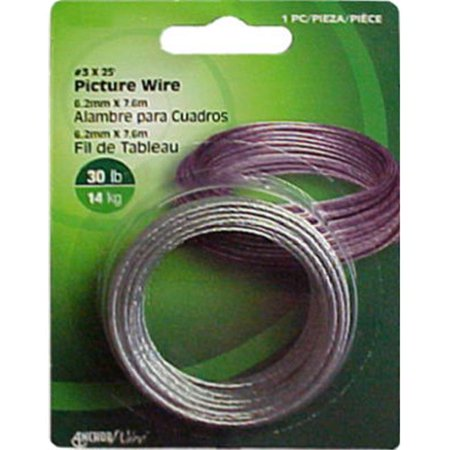 Wide Hanging - The Hillman Group 121110 Picture Hanging Wire