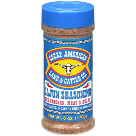 (2 Pack) Great American Land And Cattle Co. Cajun Seasoning, 6