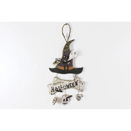 Halloween Wood Sign by Andrea Baskets,