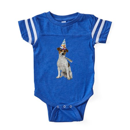 8f4f910566 CafePress - Jack Russell Terrier - Cute Infant Baby Football Bodysuit -  Walmart.com