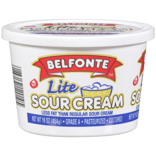 Belfonte Lite Sour Cream, 16 oz