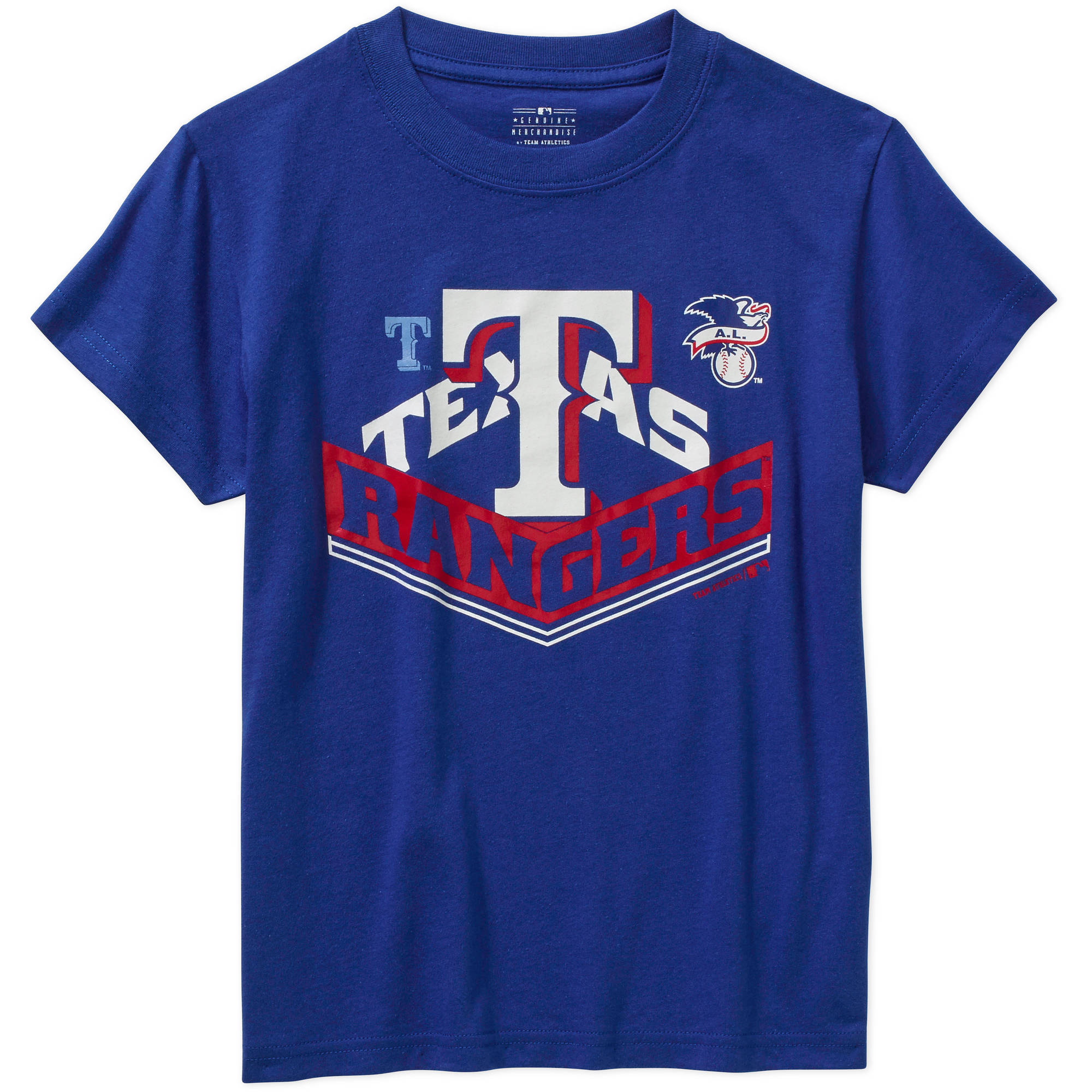 MLB Boys' Texas Rangers Alternate Team Short Sleeve Tee