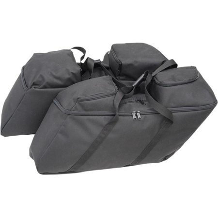 Drag Specialties 3501-0942 Collapsible Soft Luggage for HD Hard Saddlebags