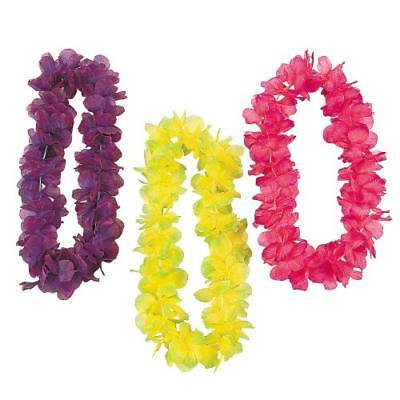 IN-14/1694 Two-Tone Large Floral Leis Per - Floral Leis