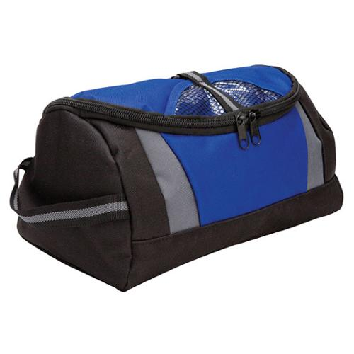 Goodhope Zip Around Hanging Toiletry Bag Blue