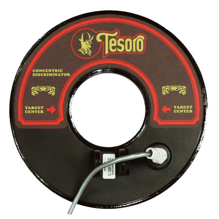 Tesoro 8 Inch Round Concentric Search Coil With 8Ft Long Cable Brown